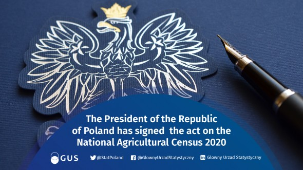 The President of the Republic of Poland signed the Act on the National Agricultural Census