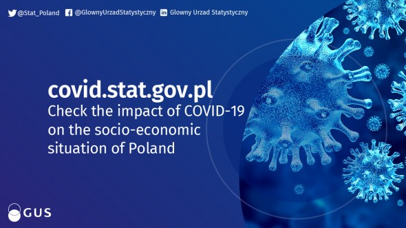 covid.stat.gov.pl - check the impact of COVID-19 on the socio-economic situation of Poland