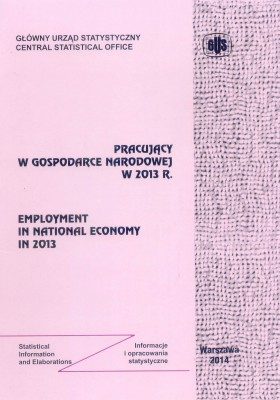 Employment in national economy in 2013