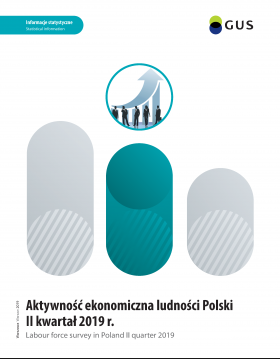 Cover of the publication Labour force survey in Poland II quarter 2019