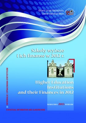 Higher education institutions and their finances in 2012
