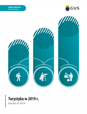 Cover of publication Tourism in 2019