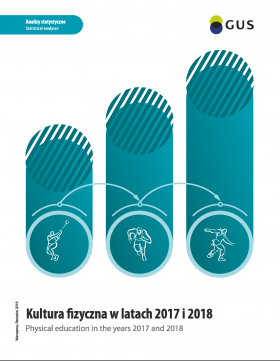 Cover of the publication Physical education in the years 2017 and 2018