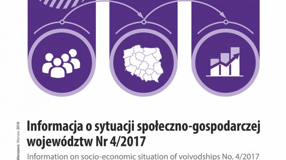 Information on socio-economic situation of voivodships No. 4/2017