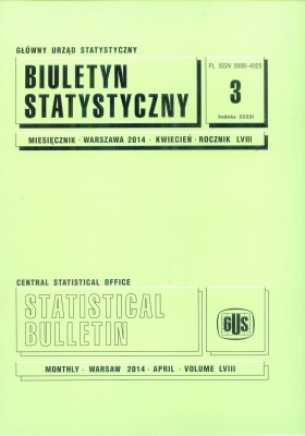 Statistical Bulletin No 3/2014