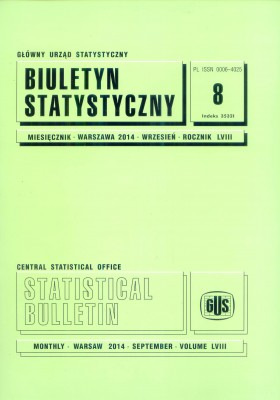 Statistical Bulletin No 8/2014