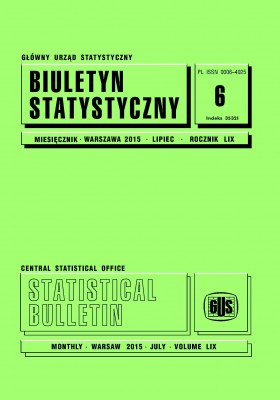 Statistical Bulletin No 6/2015