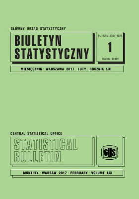 Statistical Bulletin No 1/2017