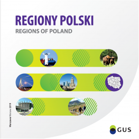 Cover of the publication Regions of Poland 2019