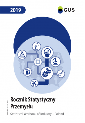 Cover of the publication Statistical Yearbook of Industry - Poland 2019