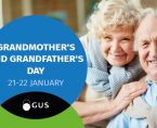 Infographic - Grandmother's and Grandfather's Day 21-22 January Foto