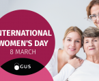 Infographic - International Women's Day 8 March Foto