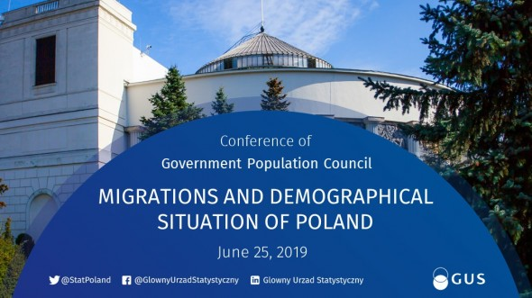 MIGRATIONS AND DEMOGRAPHICAL SITUATION OF POLAND a conference of the Government Population Council