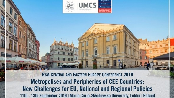 "Conference ""Metropolises and Peripheries of CEE Countries: New Challenges for EU, National and Regional Policies"""