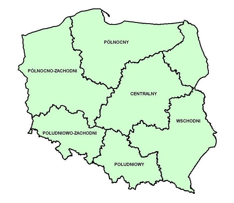 Statistics Poland Regional Statistics Nomenclature Nts Nts 1