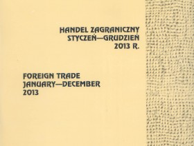 Foreign trade. January - December 2013