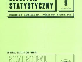 Biuletyn Statystyczny nr 9/2014