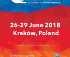 European Conference on Quality in Official Statistics (Q2018) Foto