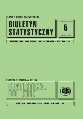 Statistical Bulletin No 5/2017