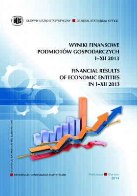 Financial results of economic entities in I–XII 2013