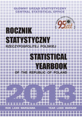 cover of publication Statistical Yearbook of the Republic of Poland 2013