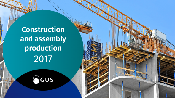 Construction and assembly production 2017